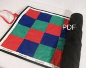 Montessori Checkerboard Pattern PDF - for the Elementary classroom