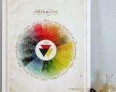 """Prismatic Color Wheel  - Large - 15.5"""" x 21"""""""