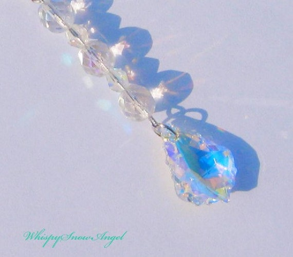 Swarovski Pendant Suncatcher Fire Polished Beads Iridescent