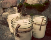 Soy Candles - 8 oz Mason Jars - Your Choice of THREE