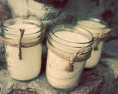 3 Soy Candles - 8 oz Mason Jars - Your Choice of THREE