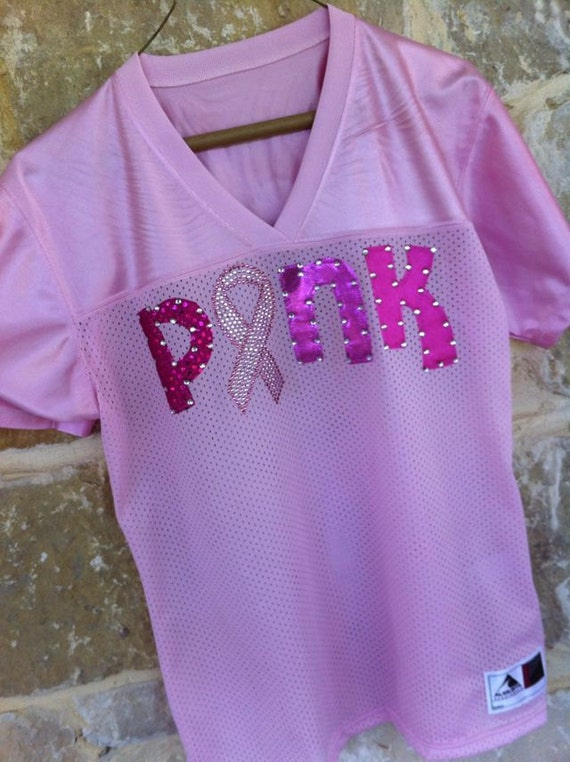 Pink  Breast Cancer Jersey