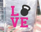 Personalized Tumbler- Crossfit Love 26oz