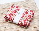Eco-Friendly Large Cloth Napkins - Set of 4 - (N458)