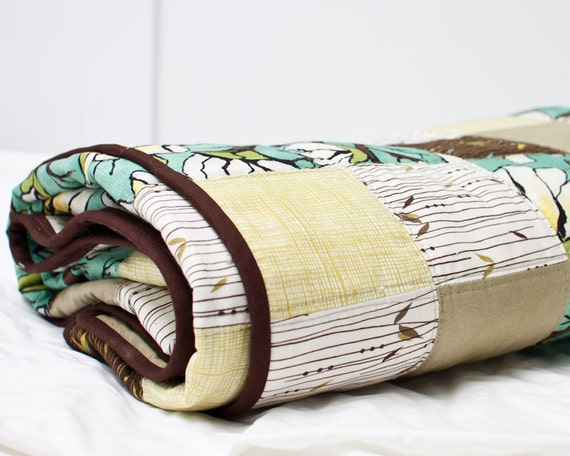 SALE - Earthy Quilt