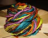 Wonderland Taffy: Yummy Soft & Squishy Merino Slub Thick n Thin 93 yds