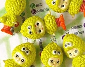 Kewpie Big Bird Plastic Charm READY to SHIP