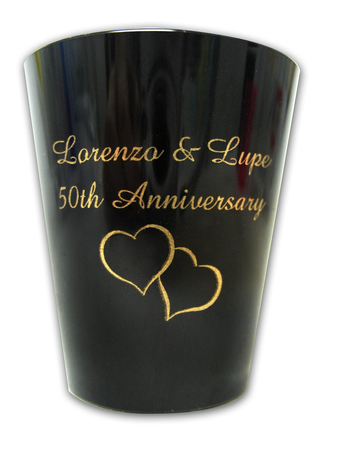 75 personalized custom wedding favor plastic shot glasses
