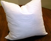 16 x 16 Pillow Cushion Insert with your Choice of my Pillow Covers - Premium Synthetic Down Insert