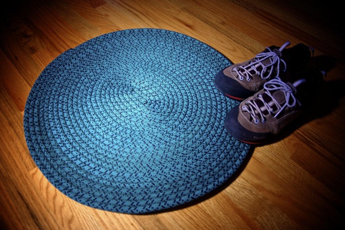Recycled Climbing Rope Amp Yoga Mat Rug