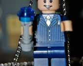 Lego 10th Doctor Necklace