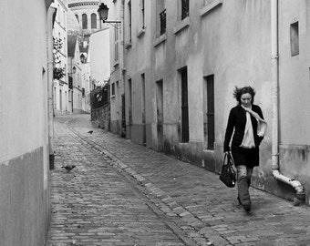 Paris street scene photograph