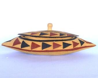 NATIVE AMERICAN BOX/ Canoe Box
