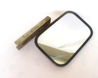 INDUSTRIAL MIRROR DECOR/ Vintage Car Side Mirror