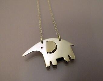 Elephant necklace / collier Éléphant