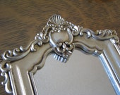 Vintage Ornate Gilted Mirror With Stand