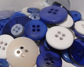 200 Ice Storm Buttons Round Multi Sizes