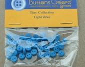 Button Pack Tiny Light Blue
