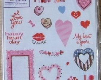 See D's My Heart Is Yours Stamp Set