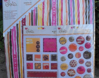 Daisy Creative Kit Scrpbook Paper and Embellishment Kit