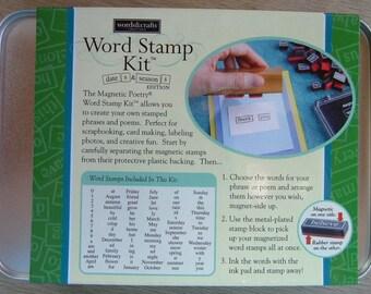 Word Stamp Kit Dates & Seasons