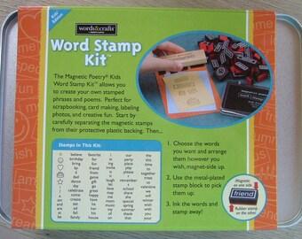Word Stamp Kit Play Create Dream