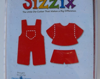 Sizzix Doll Overalls Die