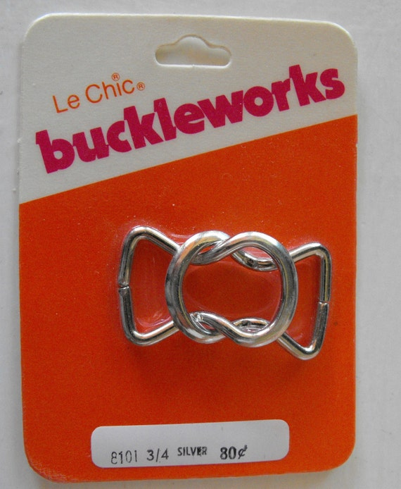 Le Chick Buckleworks Silver Buckle