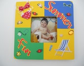 Beach Summer Picture Frame