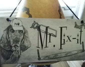 Mr. Fix It Father's Day Decorative Plaque