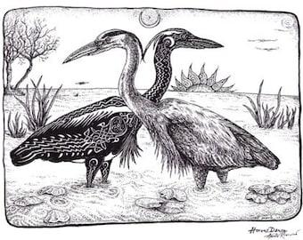 Heron's Dance