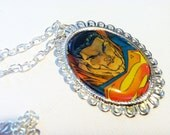 Superman Cameo Necklace