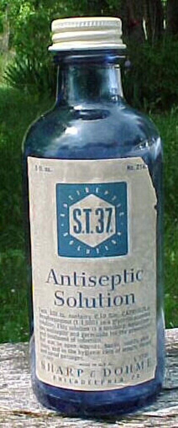 C1950s S T 37 Antiseptic Solution Sharp Amp By