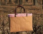 The Small City II, Kraft and Cotton Bag. C301