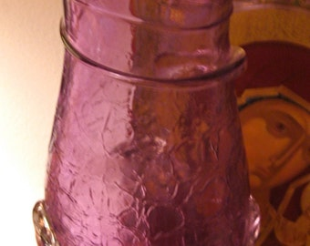Take 20% off  Sale Lovely Blown Glass Tall Lavender Vase