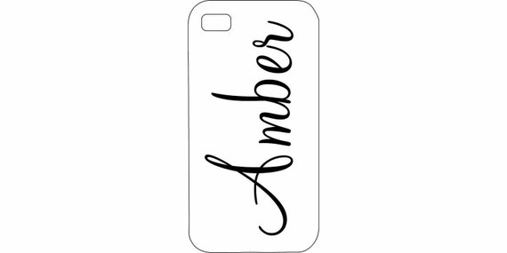 iPhone 4 4s 5 5s 5c 6 6 plus iPod Touch 4 5 cover Personalized Custom Black White HaRD, RuBBer, or BuMPeR case
