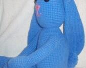 Large Crochet Bunny
