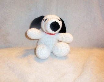 Stuffed Crochet Beagle