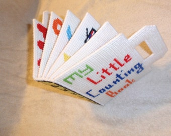 Plastic Canvas Counting Book