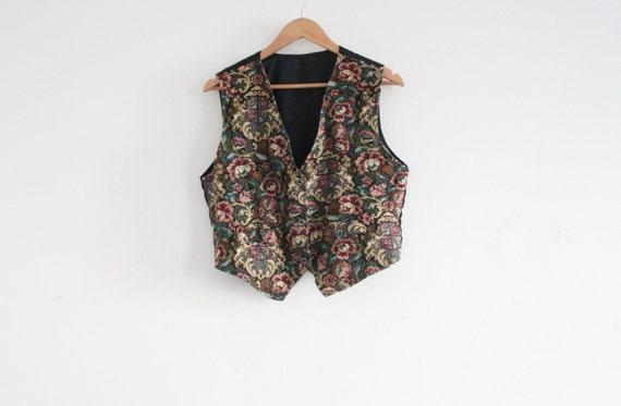 SALE: antique pattern waistcoat