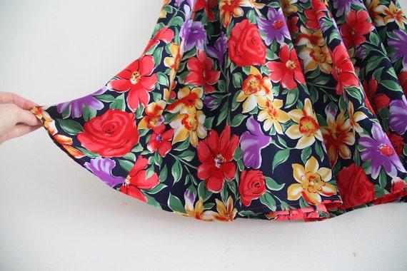 SALE: floral maxi skirt