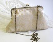 Bridal purse Evening bag baroque decoration