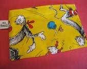 Eco Friendly Reusable Snack Bag  - Cat in the hat