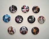 Batman Villains & Rogues Button Pin Set