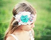 INSTANT DOWNLOAD Lily Headband PDF Pattern How to Ebook with a No Sew option