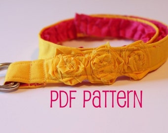INSTANT DOWNLOAD Reversible Belt PDF Sewing Pattern By Hadley Grace Designs - Includes All Sizes
