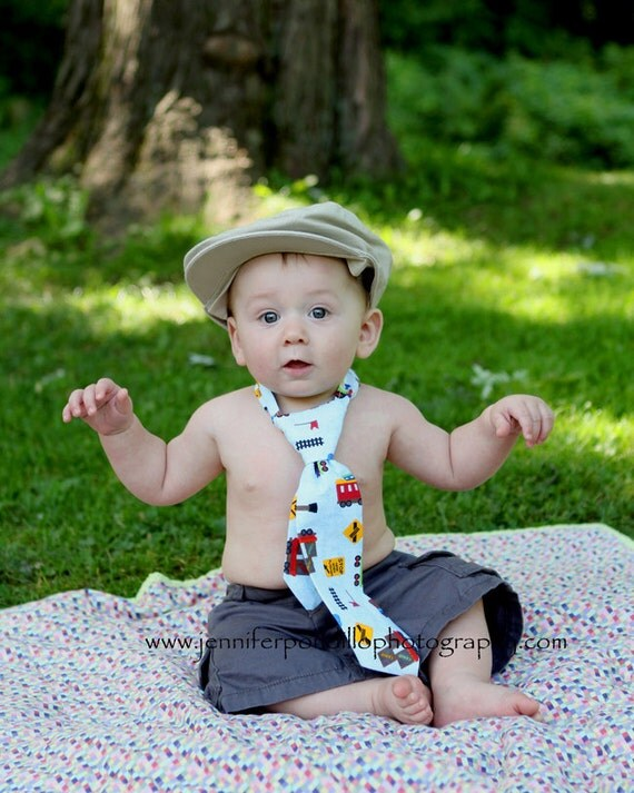 INSTANT DOWNLOAD Little Man's Tie Sewing Pattern PDF Ebook