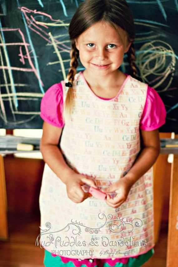 INSTANT DOWNLOAD Art Smock or Apron PDF Sewing Pattern
