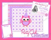 DIY Party Package - Party Owls Collection