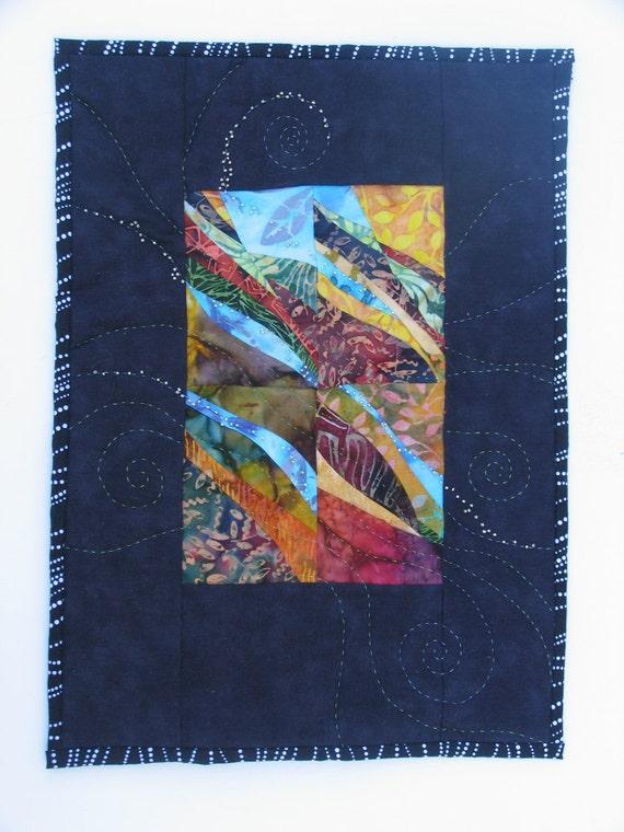Layered Earth and Water Wall Art No 1